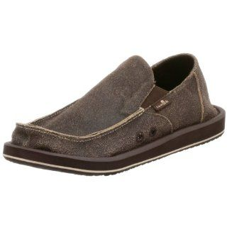 Sanuk Mens Cruiser Sandal Shoe,Chocolate,13 M Shoes