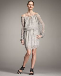Haute Hippie Beaded Peasant Dress
