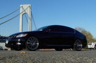 19 Vertini Hennessey Staggered Wheels Rims Fit Infiniti MDX G35 G37