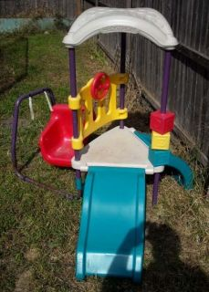 Hedstrom Back yard slide play swing set Local pickup only South Amboy