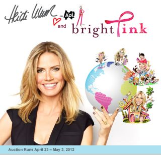 Meet Heidi Klum in New York City and Support Bright Pink