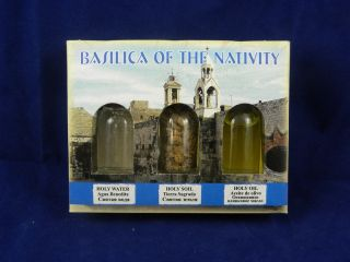 Holy Water Holy Land Holy Oil Olive Israel Jerusalem