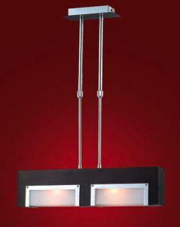 2 Light Adjustable Height Pendant