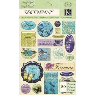 K&Company Susan Winget Clearly Yours, Botanical Word: Arts