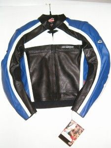 Hein Gericke Mens Sport Racing Leather Jacket PSX R LG