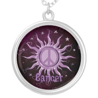 Peace Sun Necklaces