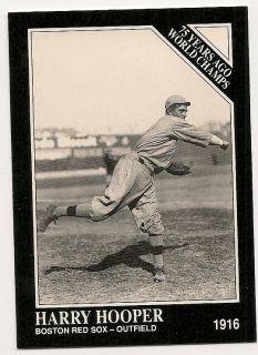 Harry Hooper Boston Red Sox 1916 1991 The Sporting News Conlon 135