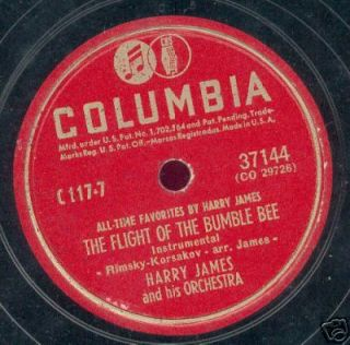 HARRY JAMES 17 78 RPM Records Columbia