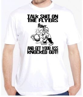 Flyers Knockout Hockey Funny Shirt Fan Philadelphia