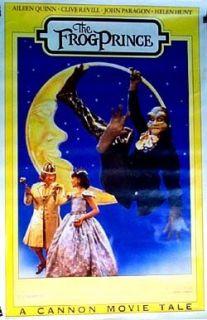 Frog Prince 1986 Rolled Orig Movie Poster Helen Hunt