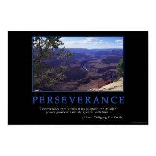 Perseverance rarely fails of its purpose; for its silent power grows