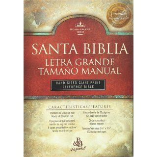 The Broadman and Holman Santa Biblia Letra Grande Tamano Manual:(Hand