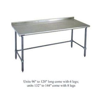 Eagle Group UT24108GTE   Work Table w/ 14/304 Stainless