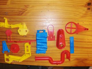 Lot 12 Mouse Trap Game Replacement Pieces Parts Spares