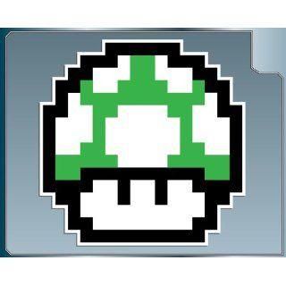 1 UP MUSHROOM from Super Mario Bros. vinyl decal 4