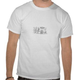 Ancient Sumerian pagan Deities Offering Tshirt