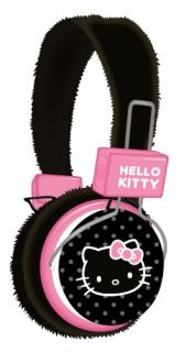 Hello Kitty High Quality Sound DJ Over Ear Headphones Headset