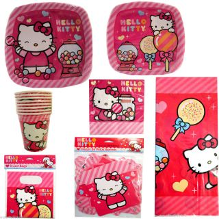 Hello Kitty Sweet Gumdrop Birthday Party Supplies Pick 1 or Many to