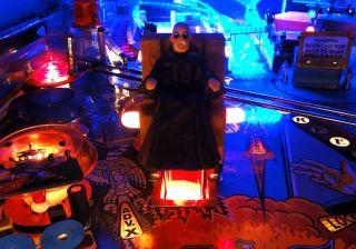 Addams Family Pinball Chair Kickout Hole Light Mod