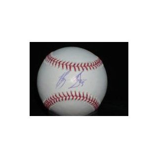 Stokes, Brian Autographed/Hand Signed MLB Baseball on the