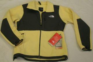 The North Face Womens Denali Fleece Jacket Hominy Yellow Size LG Large