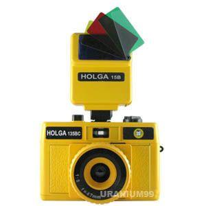 Holga 135 135BC Flash Set 15B Plastic Toy Camera 614572215139