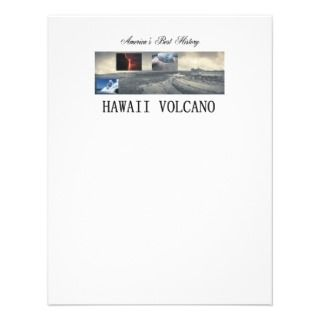 ABH Hawaii Volcano Custom Invitations