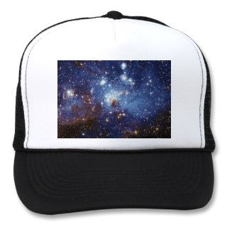 Way Star Formation Stellar Nursery LH 95 Mesh Hats
