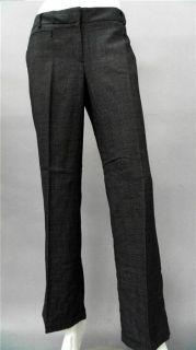 Van Heusen Studio Ladies Womens 2 Stretch Dress Pants Short Charcoal