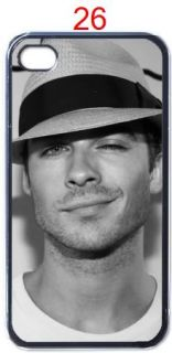 New Ian Somerhalder Vampire Diaries Apple iPhone 4 4S Hard Case Design