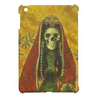 Gothic Skeleton Witch iPad Mini Case