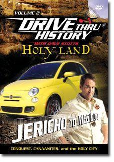 New Holy Land Drive thru History Dave Stotts Set 4 DVD Through America