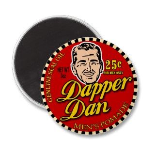 Dapper Dan $7.95 Movie Art Refrigerator Magnet
