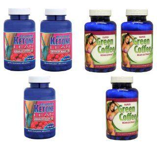 Raspberry Ketone Lean Extreme 1200mg & 100% Green Coffee