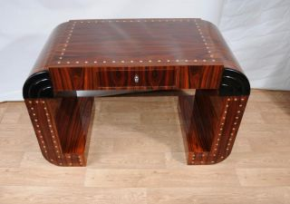 Art Deco Desk Writing Console Table Vintage 1920s Furniture
