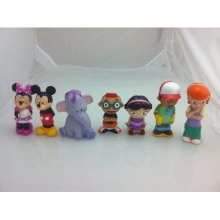 Disneys Mickey Mouse & Friends Squeeze Bath Toys Toys