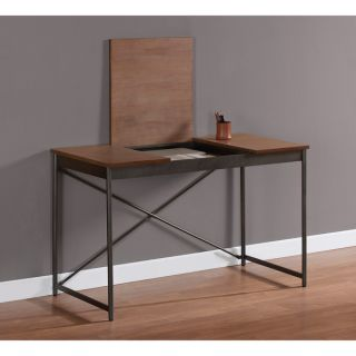 Hidden Storage Writing Home Office Desk Console Table New