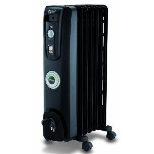Home Office Dorm Oil Filled Electric Portable Radiator Space Heater