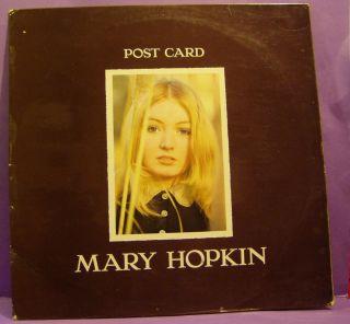 MARY HOPKIN Post Card Original UK Mono LP Beatles Apple Paul McCartney