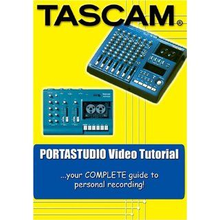 Tascam Portastudio DVD Video Training Tutorial (424, 414