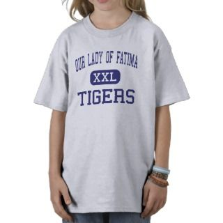 Our Lady Of Fatima   Tigers   High   Warren Tee Shirts