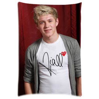 Unique 1D One Direction Niall Horan Siggy Signature Photo Pillow Case