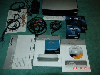 Bose AV18 Home Theater Receiver/DVD Player w/ RF Remote ADAPTiQ Series