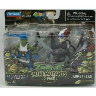 Teenage Mutant Ninja Turtles Mini Mutants 2 Pack   Extreme