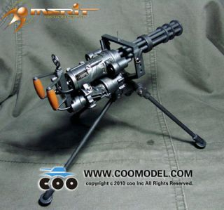 High Precision Miniature US M134 Minigun 1 6 Scale
