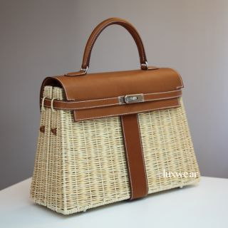 AUTHENTIC 35cm Hermes Kelly. Brand new Limited edition Kelly Picnic