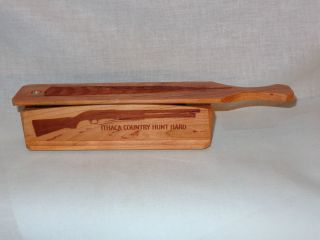High Ridge Custom Calls Short Box Wild Cherry Wood Ithaca Turkey Call