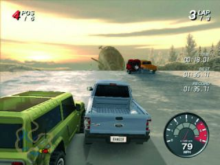 Land Rover Ford Off Road 4x4 Racing PC CD ROM Game New