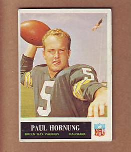 TOUGH 1965 Philadelphia 76 Paul Hornung Green Bay Packers Notre Dame