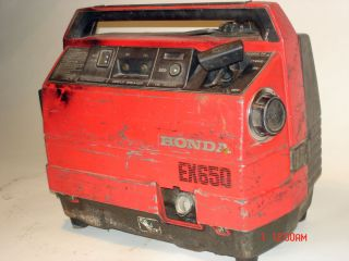 Honda EX650 Generator Portable Reliable 650W 3 5 Hours Tank
